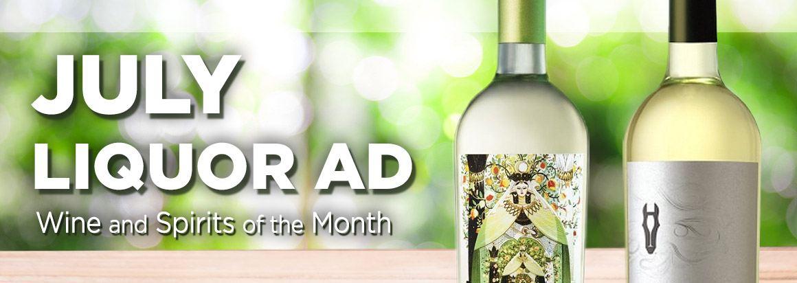 July Liquor Ad
