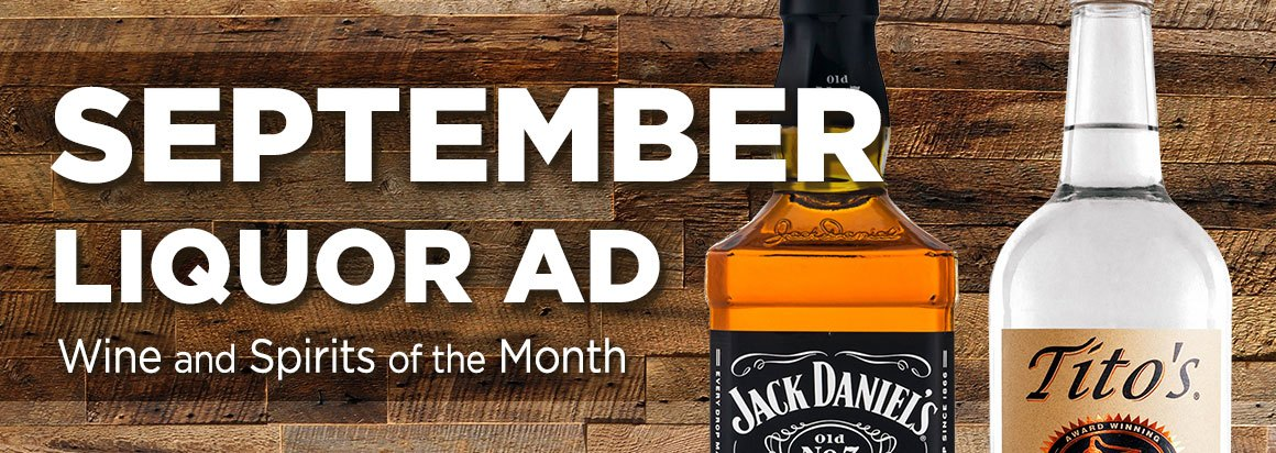 September Liquor Ad
