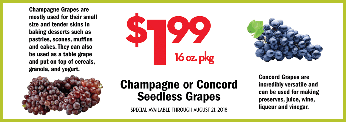 Seedless Grapes On Sale
