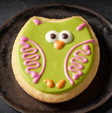 Owl Sugar Cookie