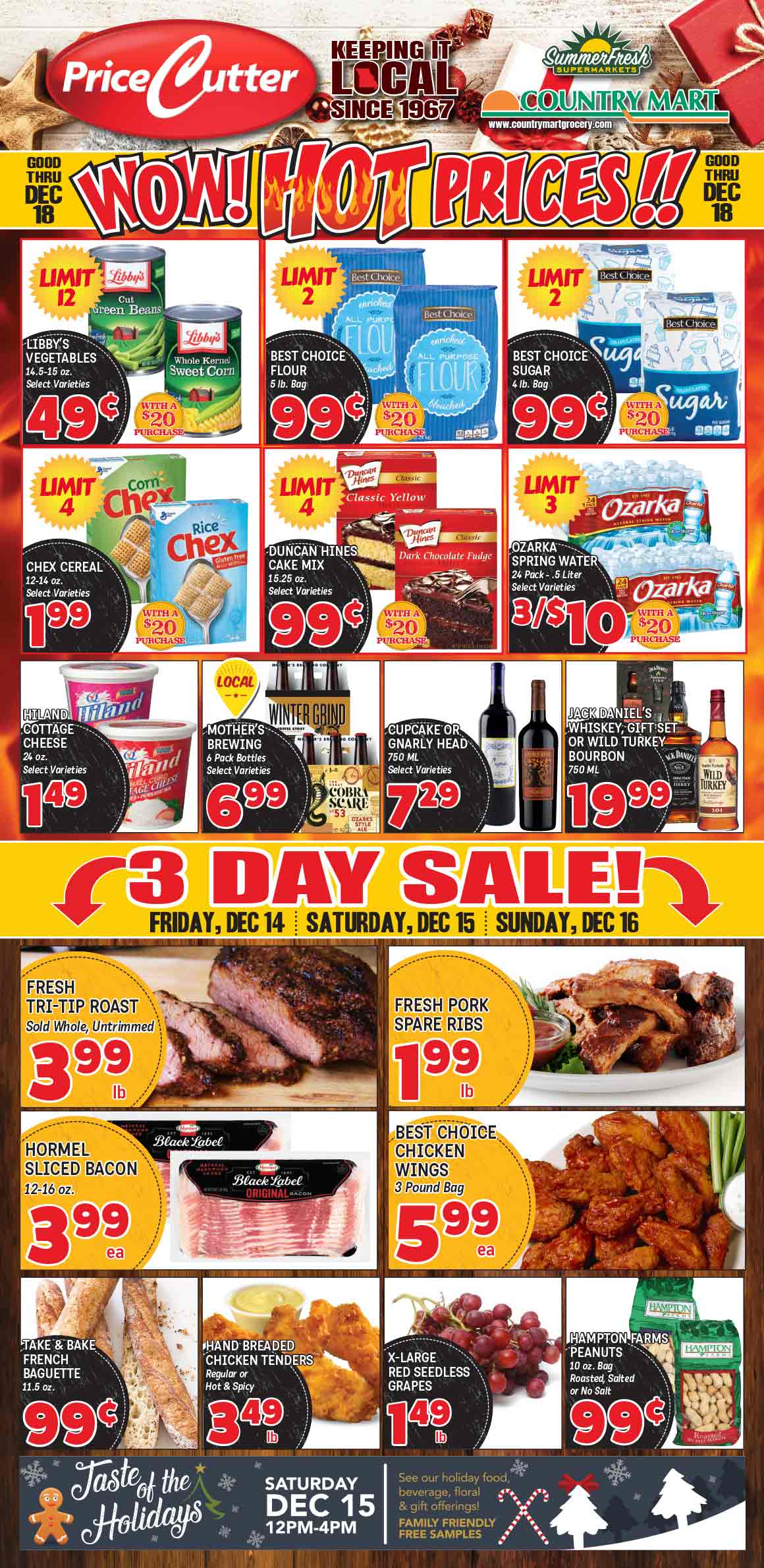 Hot Prices & 3 Day Sale!