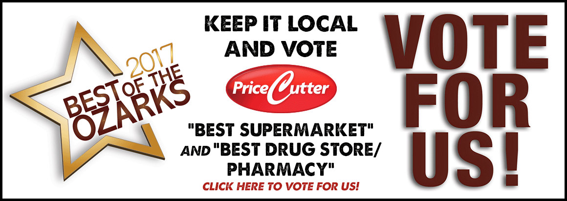 Vote For Us in the 2017 Best Of The Ozarks