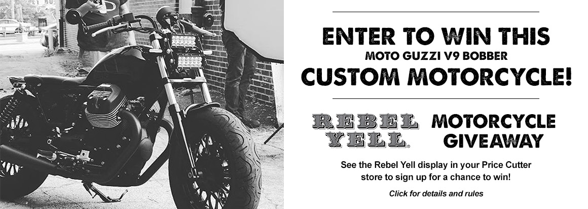 Rebel Yell Motorcycle Giveaway