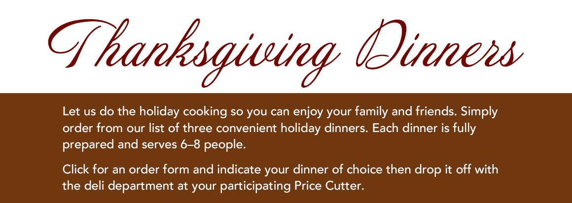 Holiday Dinners