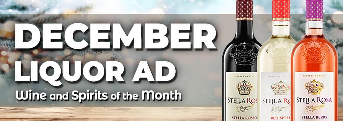 December Liquor Ad
