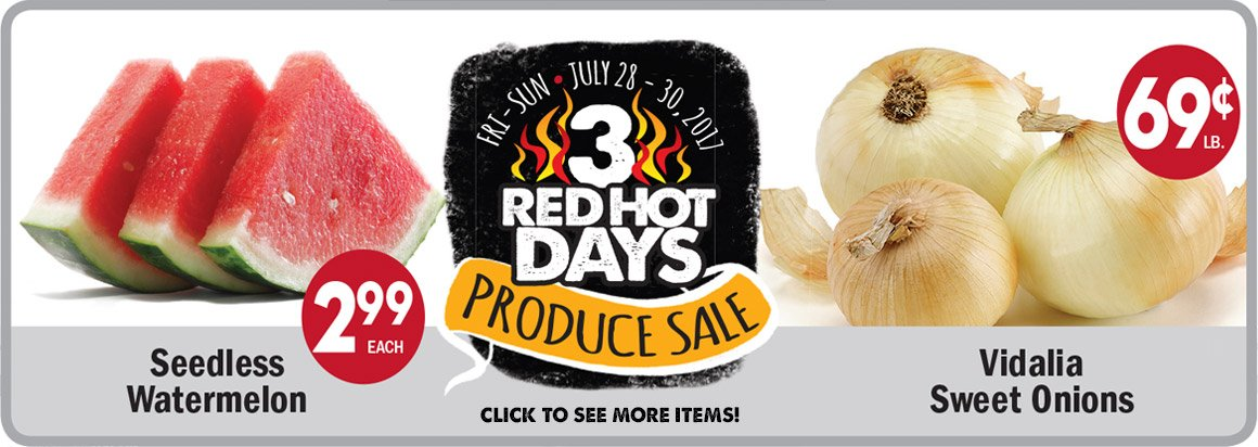 3-Day Produce Sale