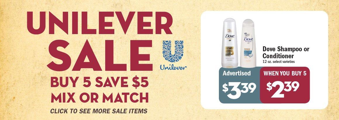 Unilever Sale
