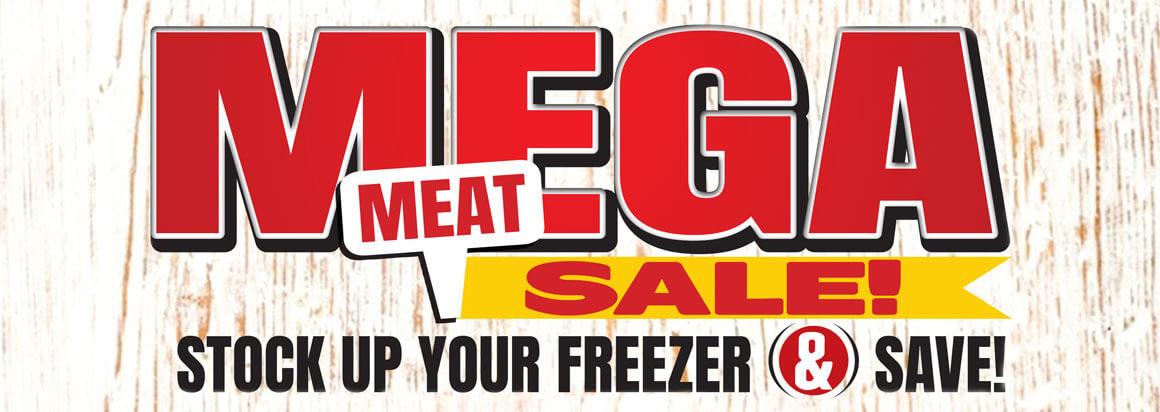 Mega Meat Sale