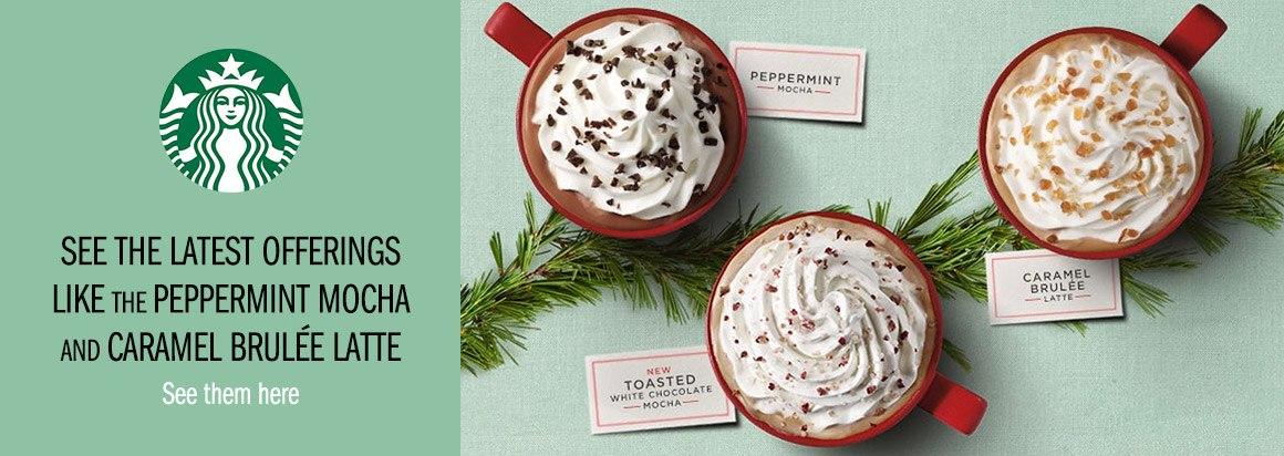 Starbucks Latest Offerings