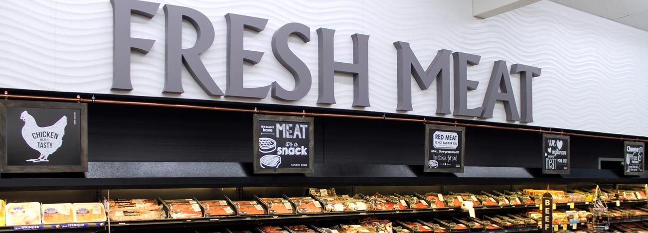 Meat & Seafood Department
