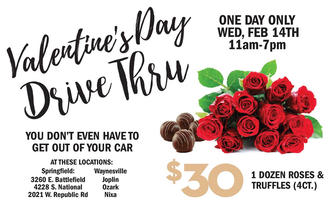Valentine's Day Drive Thru