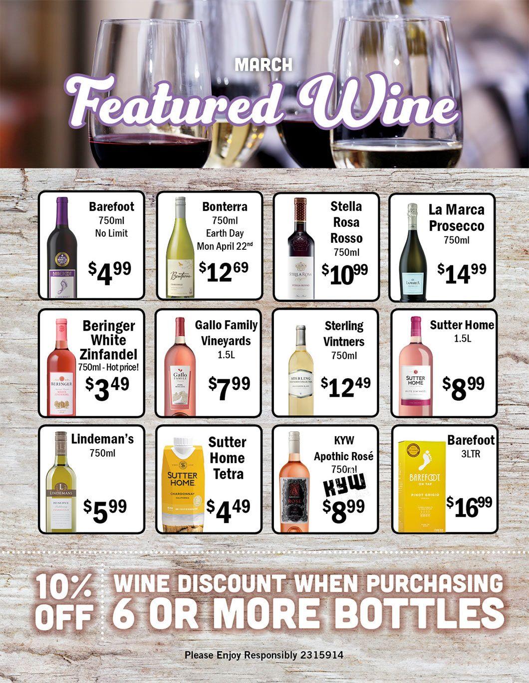 April Liquor Ad