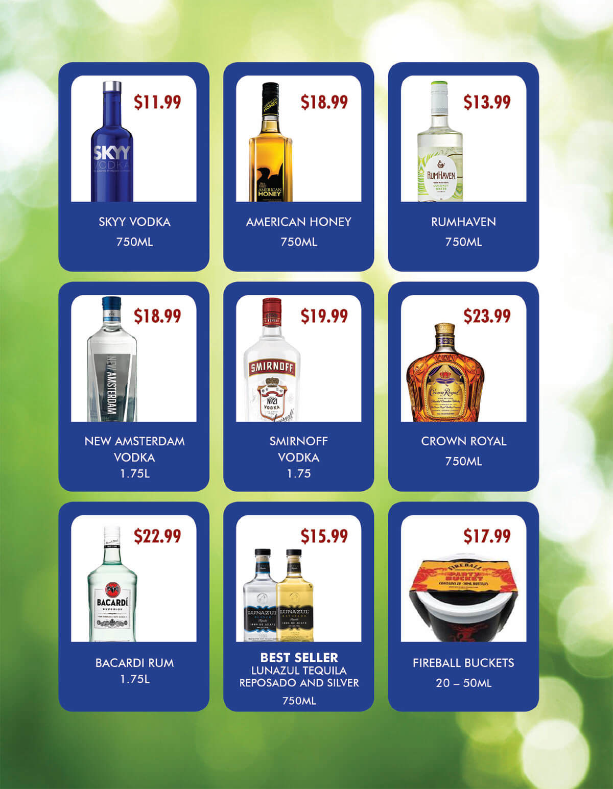June Liquor Ad